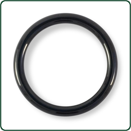Elegant and eye-catching, these solid round bangles are carved from a single piece of Australian black Jade.