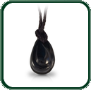 Alluring shapes and imagery form out of this carved pendant in dark Jade.