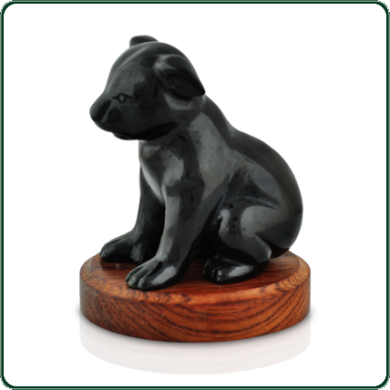 Delicately carved, large black Jade sitting koala is destined to be a life-long favourite.