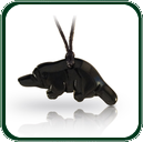 Traditionally carved small black Nephrite Jade platypus is an ideal gift for children.