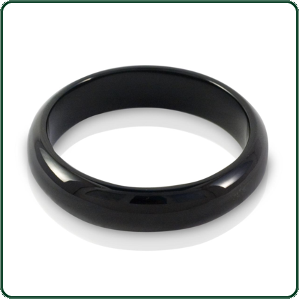 Bold, sophisticated yet simple dark carved Jade solid wide-band bangles for both men and women.